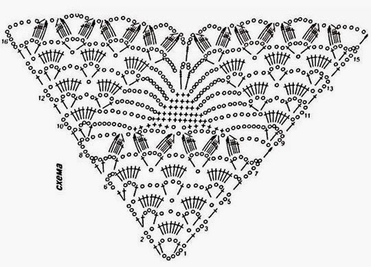 Stola Van Crocheted4you