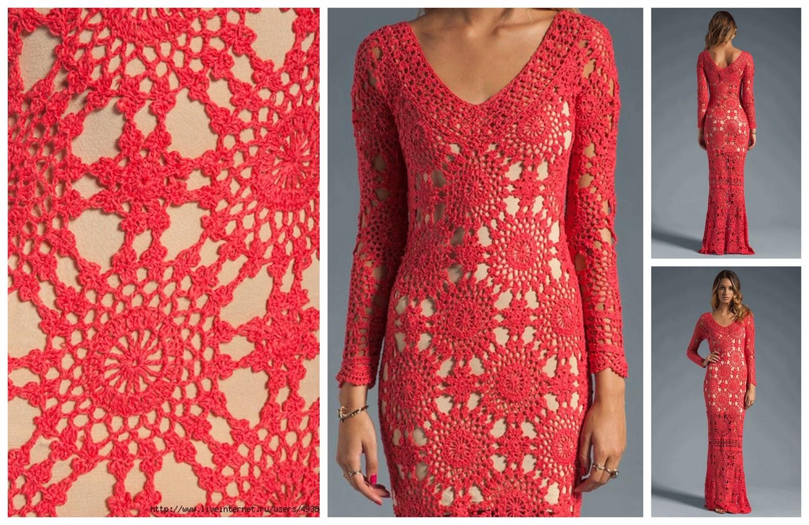 Gehaakte Jurken Crochet Dresses